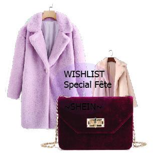 Wishlist SHEIN ~Fête